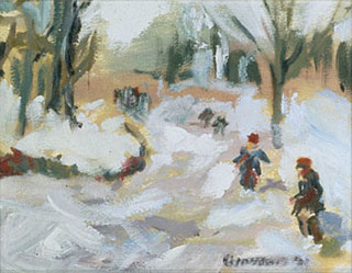 WINTER FUN - 10 x7