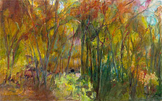 Delices d'automne II - 96x60